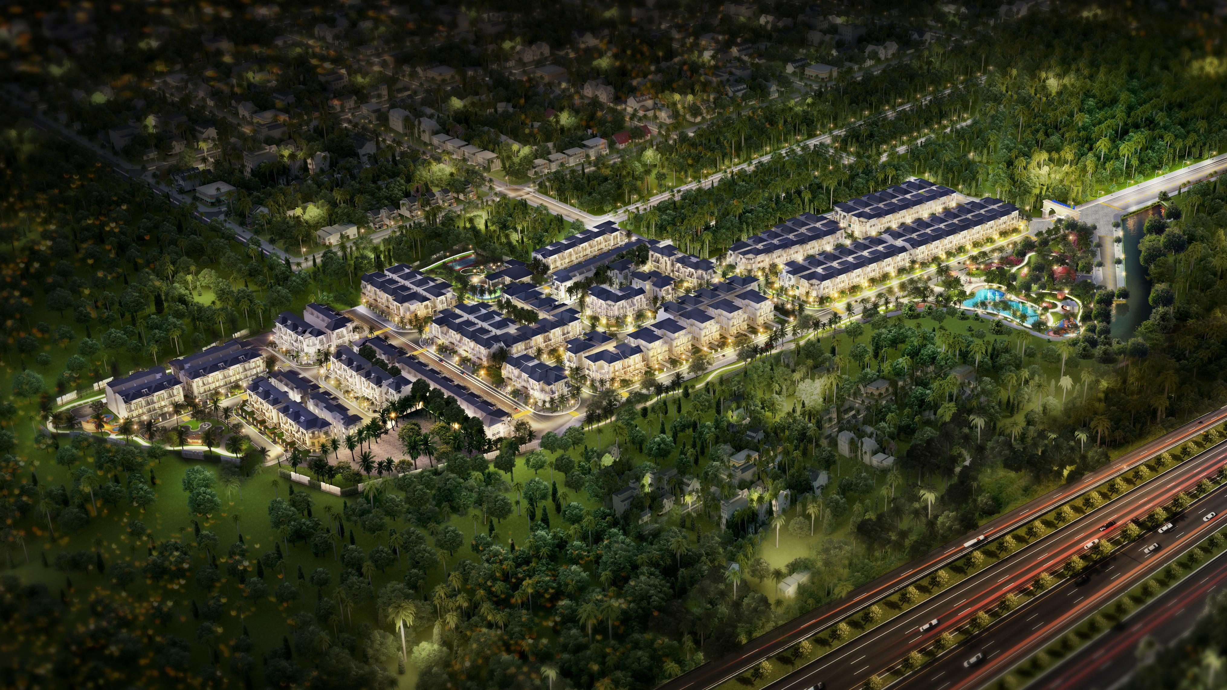 Khang Điền vừa cho ra mắtTổ hợp nhà phố, biệt thự Verosa Park Quận 9,dự kiến mở bán tháng 12/2019